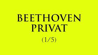 Beethoven privat (ep.1)