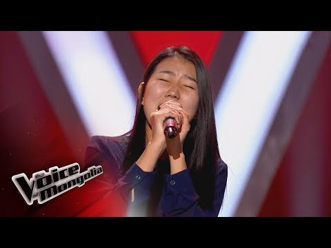 """Alungoo.B - """"Underneath your clothes"""" -Blind Audition - The Voice of Mongolia 2018"""