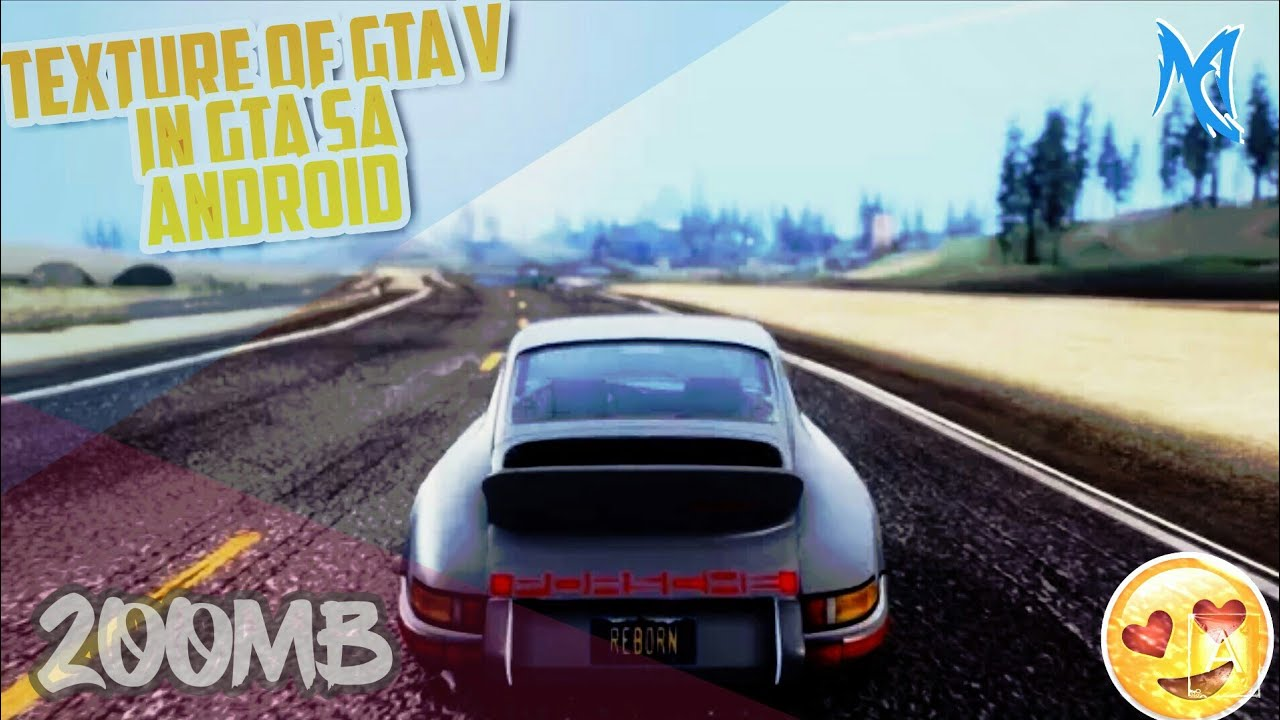 [200MB] How To Download And Install GTA 5 Texture Insane Graphics Mod For  GTA San Andreas Android
