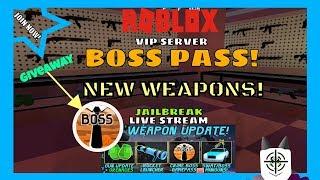 Roblox Famiglia Amichevole! Aggiornamento Jailbreak! - Dare via un boss pass!