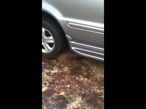 Ml350 water problem youtube for 2006 mercedes benz ml350 problems