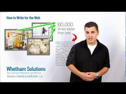 How to Write for the Web - Writing Website Content
