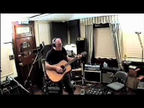 "David Gilmour recording ""This Heaven"" in Astoria"