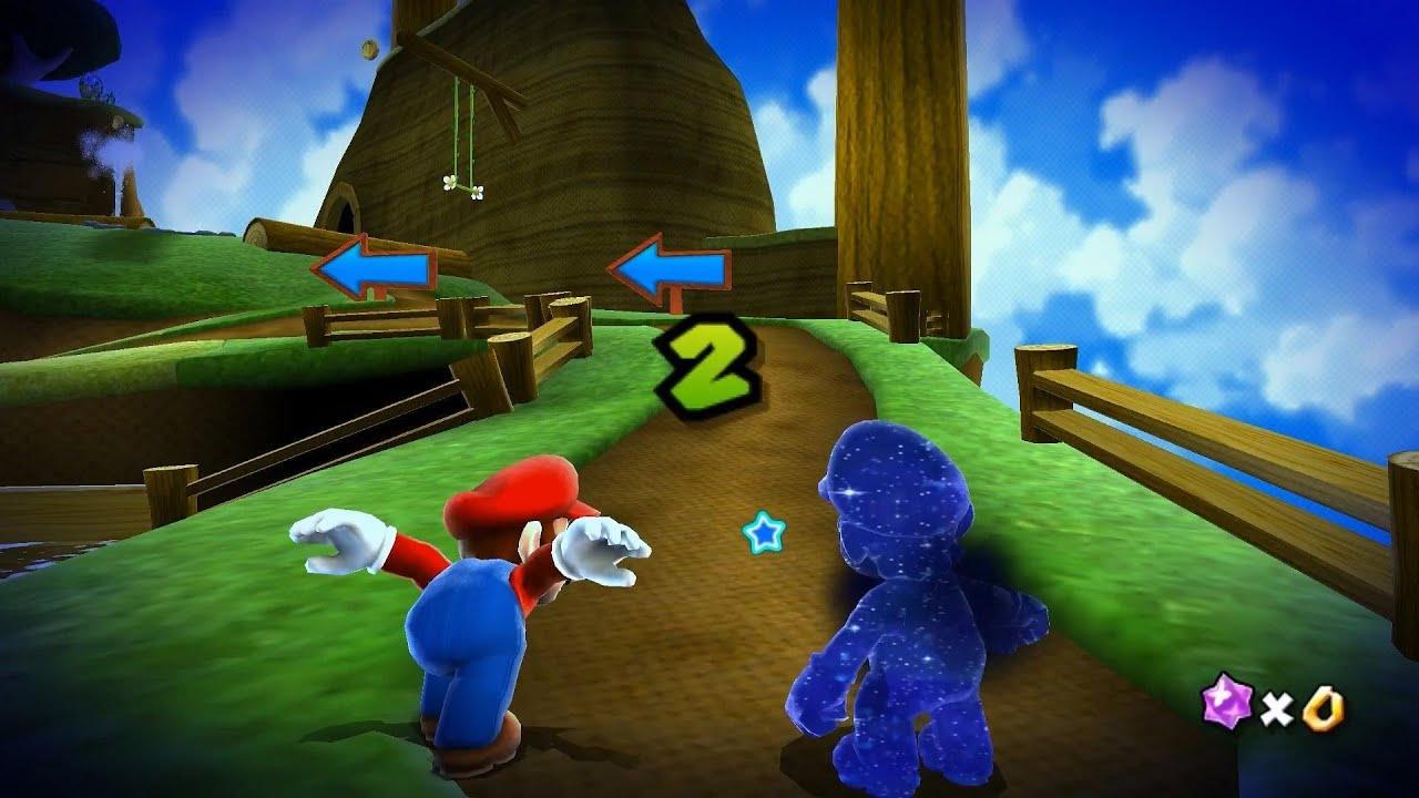 Dolphin 4.0.2 | Super Mario Galaxy | Star 22 - Honeyhive ...