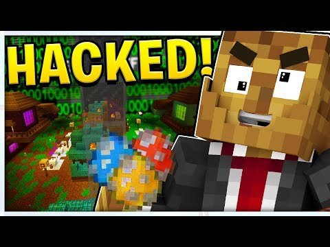 HACKING PRANK OVER 1000 EVIL RABBITS MINECRAFT MONSTERS INDUSTRIES 3.0 | JeromeASF