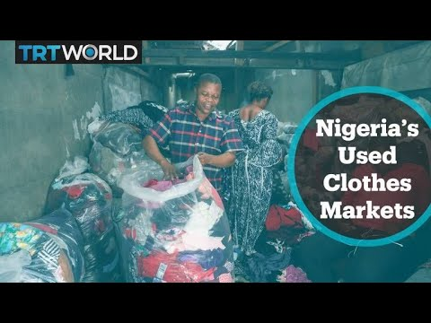 Demand for used clothes drops in Nigeria amid concerns