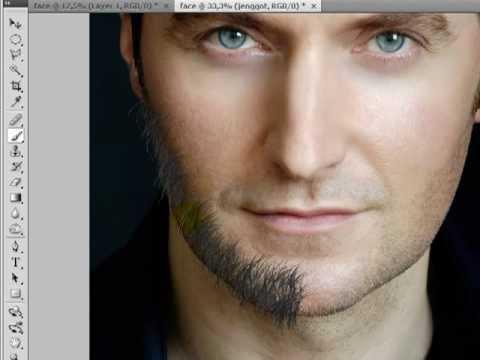 Photoshop Tutorial: Manipulasi wajah dengan brushes tool