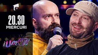 iUmor 2021 | Cristi Popesco a venit la iUmor cu un număr greu de descris în cuvinte