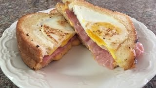 vuclip Best Grilled Cheese and Ham Sandwich with a twist