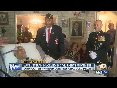 WWII Veteran involved in Civil Rights movement
