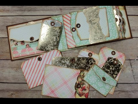 Envelopes, Inserts, & Tags for Mini Albums