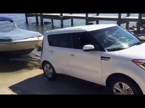 Captivating 2016 Kia Soul Towing Pulling Boat