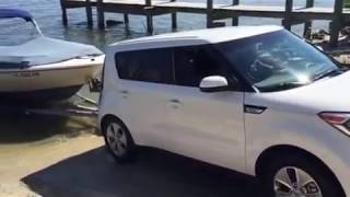 2016 Kia Soul Towing Pulling Boat