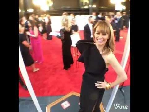 Kat Stewart does a TV WEEK Fashion Turn at the 2014 Logies