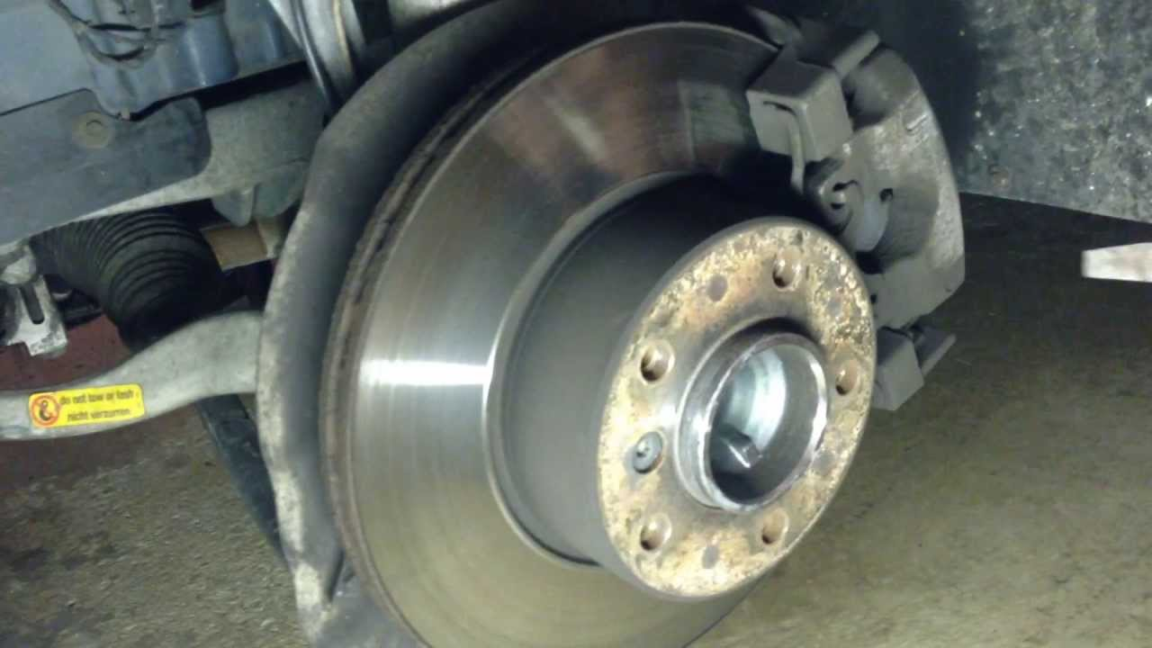 service manual  2003 bmw 745 front brake rotor removal