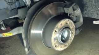 BMW E39 5 Series (1996-2003) Brake Pad and Rotor Replacement DIY