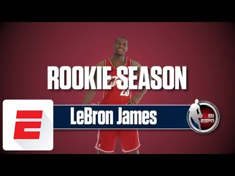 LeBron James' rookie season: His interviews, the SportsCenter highlights, and more | ESPN