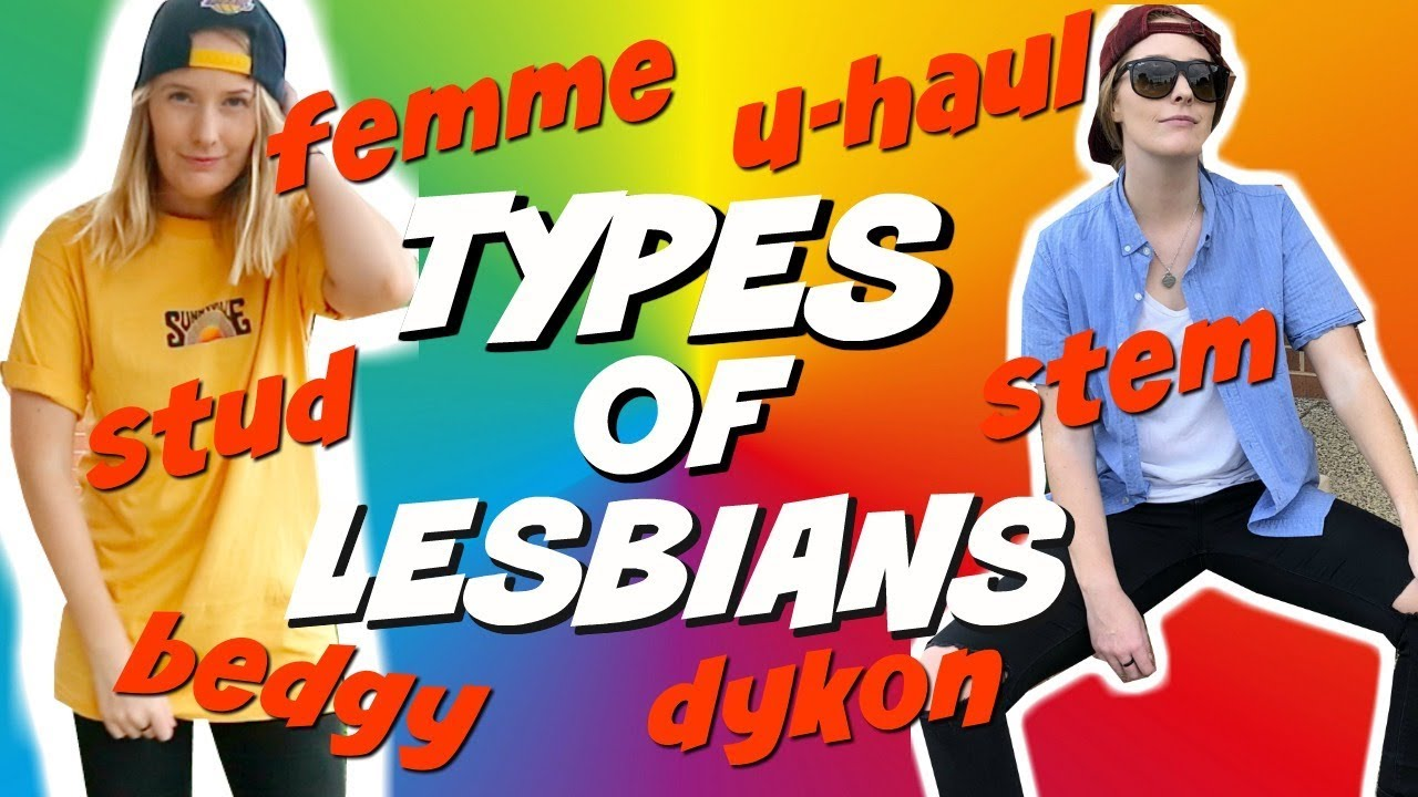 what are the types of lesbians