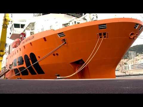 Le SBM Installer en escale à Monaco