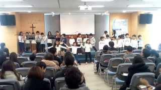 온가족예배 초등부 발표