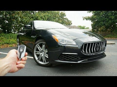 2018 Maserati Quattroporte GanLusso: Start Up, Test Drive, Walkaround and Review