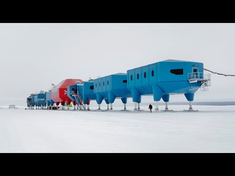 Designing and building polar research stations in Antarctica