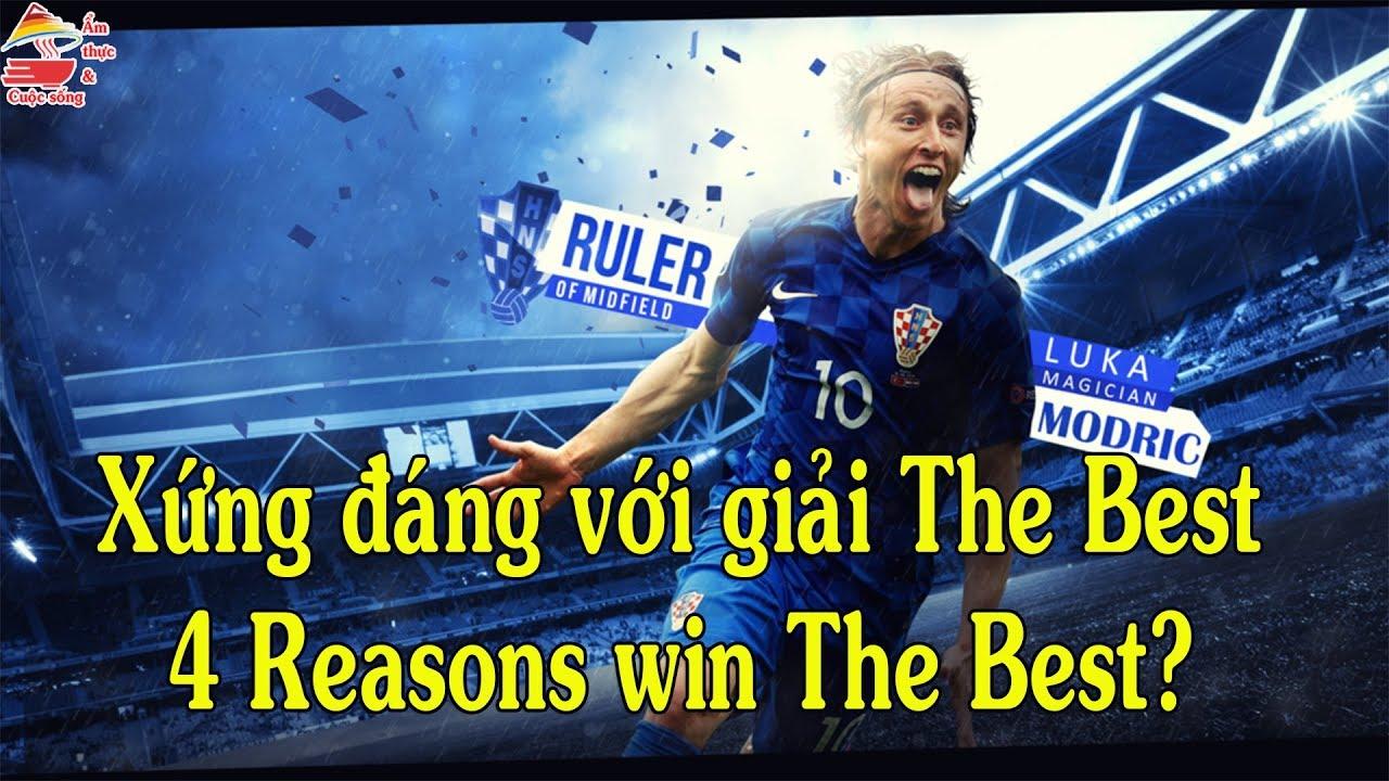 Luka Modric | Lí do dành The Best | Reasons win The Best | Ẩm thực & Cuộc sống