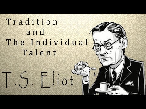 Tradition and the Individual Talent By T.S. Eliot (Hindi)