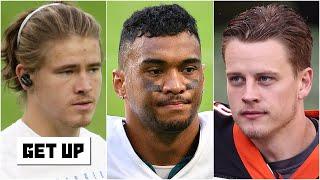 Evaluating the progress of Justin Herbert, Tua Tagovailoa & Joe Burrow as rookie QBs   Get Up