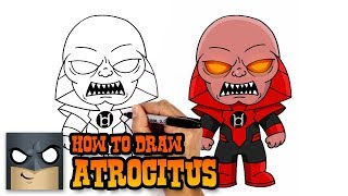 How to Draw Atrocitus (Step by Step Drawing Tutorial)