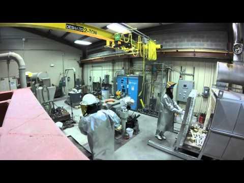 2205 Duplex Stainless Steel Melt/Pour for VT MSE 2016 Senior Design Project