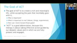 Acceptance and Commitment Therapy (ACT) Skills