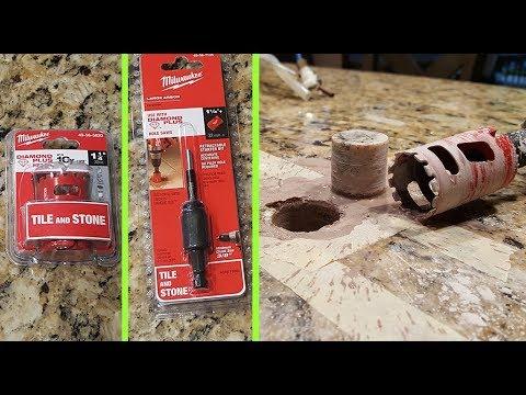 How To Drill A Hole In Granite Countertop. Сверлить гранит это легко
