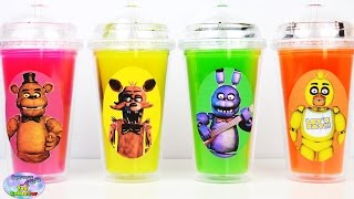 Five Nights at Freddys FNAF Slime Surprise Cups Surprise Egg and Toy Collector SETC