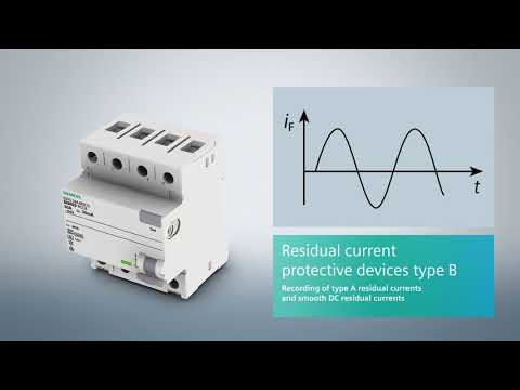 Siemens Residual Current Protective Devices (RCDs, RCCBs)