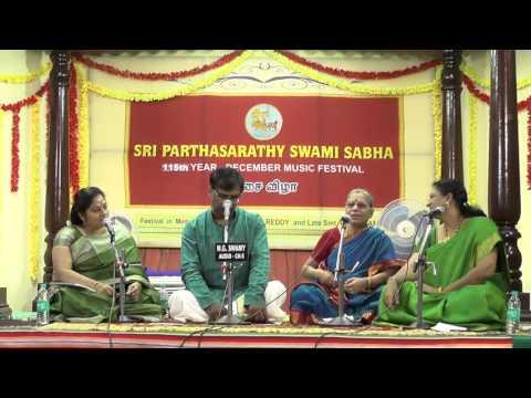 Chennai Music Season 2015 l Lec Dem   Chitravina N.Ravi Kiran   Dr.S.Sowmya   Aroganam, Avaroganam