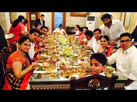 Amitabh Bachchan and Nagarjuna Feast at Prabhu House   Hot Tamil Cinema News