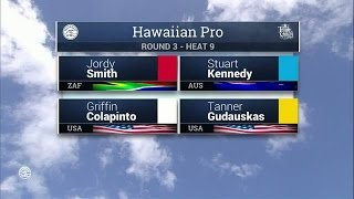 2016 Hawaiian Pro: Round Three Heat 9