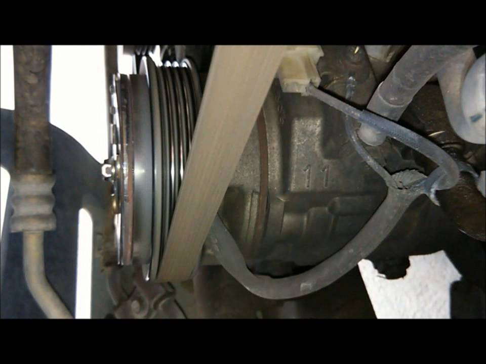 Before and after aircon Clutch Pulley replacement - YouTube
