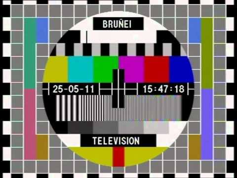 [ Feed ] Brunei Television Testbild
