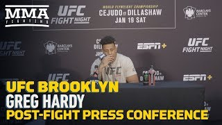 UFC Brooklyn: Greg Hardy Post-Fight Press Conference - MMA Fighting