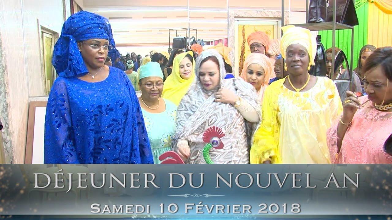 DÉJEUNER DU NOUVEL AN 2018 AVEC MADAME MARIÈME FAYE SALL - PREMIÈRE DAME DU SÉNÉGAL