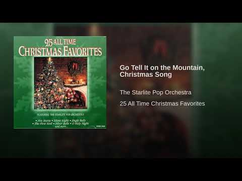Go Tell It on the Mountain, Christmas Song