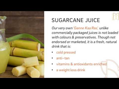 DIET & NUTRITIONAL BENEFITS OF SUGARCANE & SUGARCANE JUICE