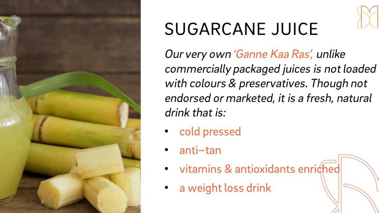 Nutritional Benefits Of Sugarcane