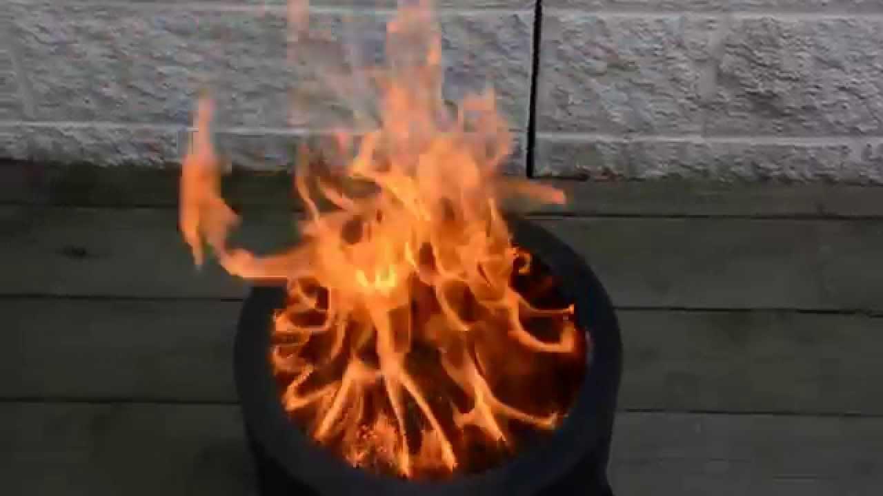 Smokeless Wood Pellet Fire Pit Youtube