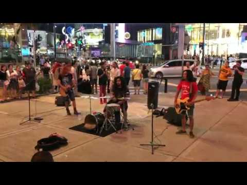 Kuala Lumpur street musicians
