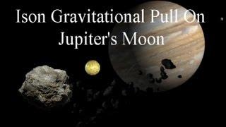 Ison Gravitational Pull On Jupiter's Moon