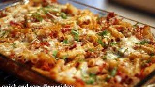 Quick dinner recipes -Quick dinner recipes vegetarian
