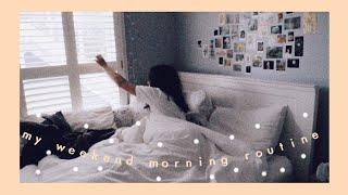 my weekend morning routine || amanda rose